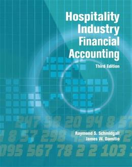 Hospitality Industry Financial Accounting with Answer Sheet (AHLEI) (3rd Edition) (AHLEI - Hospitality Accounting / Financial Management) 9780133097283
