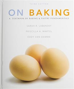 On Baking, by Labensky, 3rd Edition, 2 Book Set 3 PKG 9780133103083