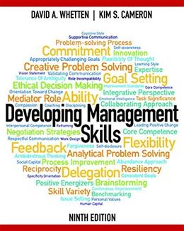 Developing Management Skills (9th Edition) 9780133127478