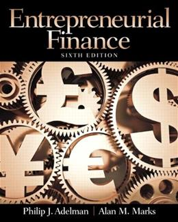 Entrepreneurial Finance (6th Edition) 9780133140514
