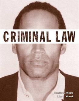 Criminal Law (Justice Series) (The Justice Series) 1 9780133145571