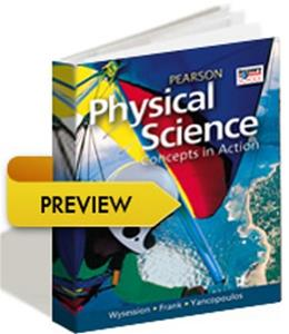 Physical Science: Concepts in Action, by Pearson, Grades 9-12 9780133163940