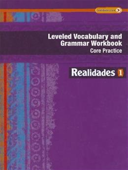 Vocabulary and Grammar, by Prentice Hall, Level 1, Workbook 9780133225716