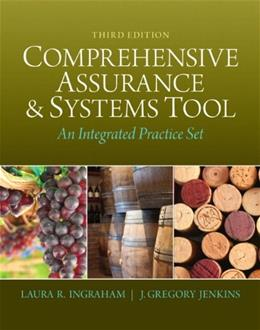 Comprehensive Assurance and Systems Tool, by Ingraham, 3rd Edition 3 PKG 9780133251968