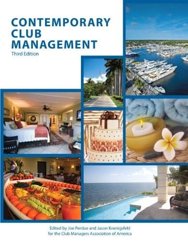 Contemporary Club Management with Answer Sheet (AHLEI) 3e (3rd Edition) (AHLEI - Club Management) 3 PKG 9780133255126