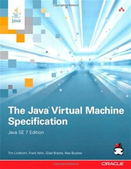 Java Virtual Machine Specification, by Lindholm, 3rd Edition 9780133260441