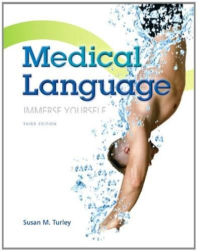 Medical Language (3rd Edition) - Standalone book 9780133346831