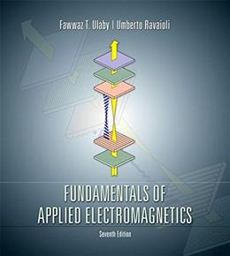 Fundamentals of Applied Electromagnetics (7th Edition) 9780133356816