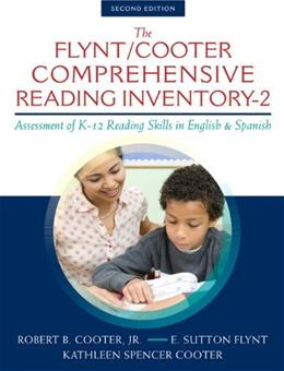 Comprehensive Reading Inventory-2: Assessment of K-12 Reading Skills in English and Spanish, by Cooter, 2nd Edition 2 w/CD 9780133362527