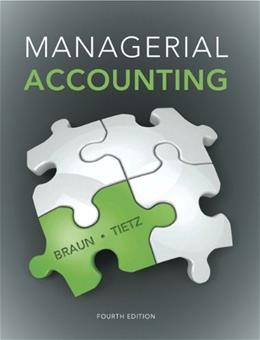 Managerial Accounting (4th Edition) 9780133428377