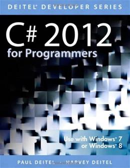 C# 2012 for Programmers, by Deitel, 5th Edition 9780133440577