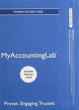 MyAccountingLab with Pearson eText for Financial Accounting, by Kemp, 3rd Edition, Access Code Only 3 PKG 9780133450095