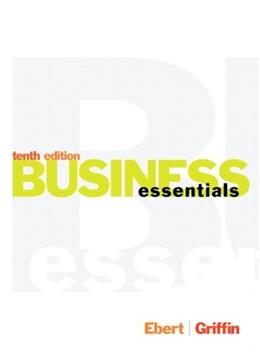 Business Essentials (10th Edition) 9780133454420