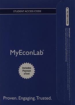 MyEconLab with Pearson eText for Macroeconomics, by Horngren, 5th Edition, Access Code Only 5 PKG 9780133456578
