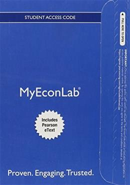 NEW MyEconLab with Pearson eText -- Access Card -- for Foundations of Macroeconomics 7 PKG 9780133485776