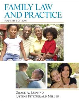 Family Law and Practice, by Luppino, 4th Edition 9780133495188