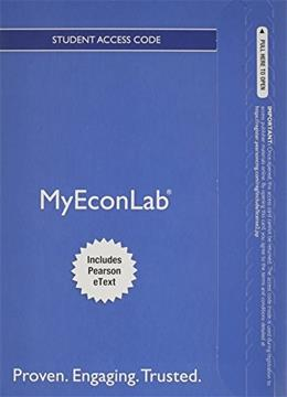 MyEconLab with Pearson eText  for Microeconomics, by Acemoglu, Access Code Only PKG 9780133498943
