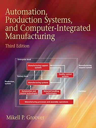Automation, Production Systems, and Computer-Integrated Manufacturing (4th Edition) 9780133499612