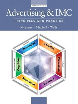 Advertising & IMC: Principles and Practice, 10th Edition 9780133506884