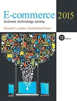 E-Commerce 2015 (11th Edition) 9780133507164