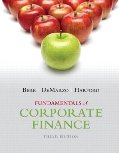 Fundamentals of Corporate Finance (3rd Edition) (Pearson Series in Finance) 9780133507676