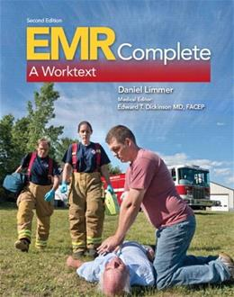 EMR Complete: A Worktext, by Limmer, 2nd Edition 9780133517033