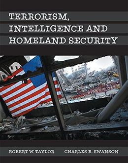 Terrorism, Intelligence and Homeland Security, by Taylor 9780133517125
