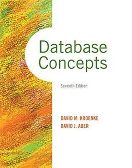 Database Concepts (7th Edition) 9780133544626