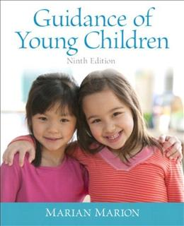Video-Enhanced Pearson eText for Guidance of Young Children, by Marion, 9th Edition, Access Code Only 9 PKG 9780133551396