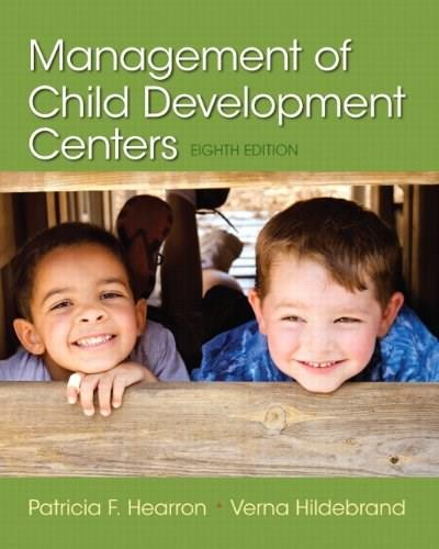 Management of Child Development Centers (8th Edition) 9780133571189