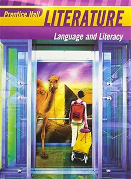Literature: Language and Literacy, by Wiggins, Grade 10 9780133666489