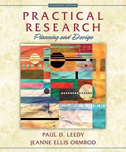 Practical Research: Planning and Design (11th Edition) 9780133741322