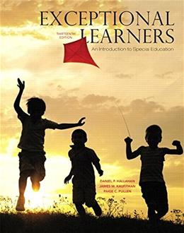 Exceptional Learners: An Introduction to Special Education, by Hallahan, 13th Edition 13 PKG 9780133744033