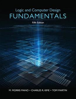 Logic & Computer Design Fundamentals (5th Edition) 9780133760637