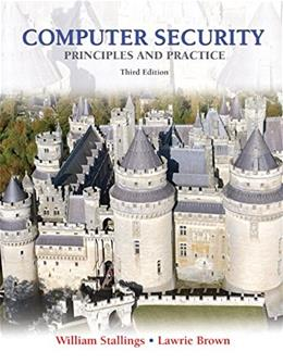 Computer Security: Principles and Practice (3rd Edition) 3 PKG 9780133773927