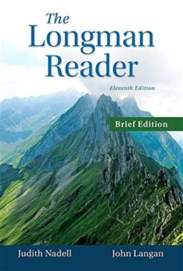 Longman Reader, by Nadell, Brief 11th Edition 9780133800401