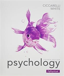 Psychology (paperback) Plus NEW MyLab Psychology  with Pearson eText -- Access Card Package (4th Edition) 4 PKG 9780133827996