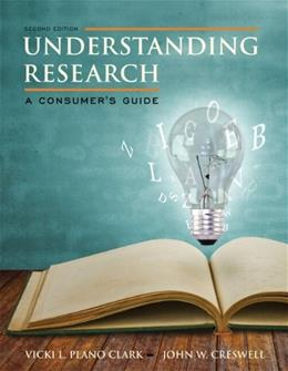 Understanding Research: A Consumers Guide 2 PKG 9780133831627