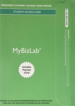 MyBizLab with Pearson eText -- Component Access Card (1 Semester Access) 9th editio 9780133840643