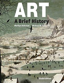 Art: A Brief History (6th Edition) 9780133843750