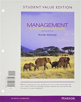 Management: A Focus on Leaders, Student Value Edition Plus 2014 MyManagementLab with Pearson eText -- Access Card Package (2nd Edition) 2 PKG 9780133853261