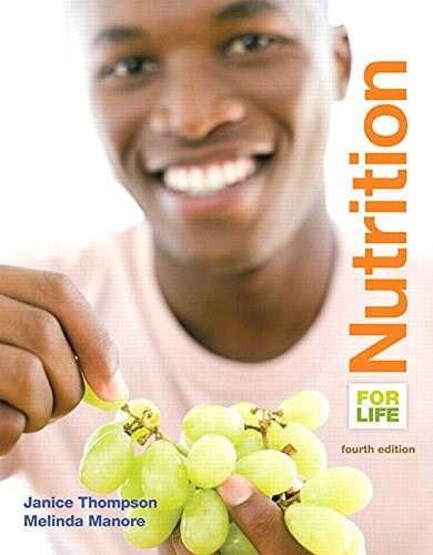 Nutrition for Life (4th Edition) 9780133853360