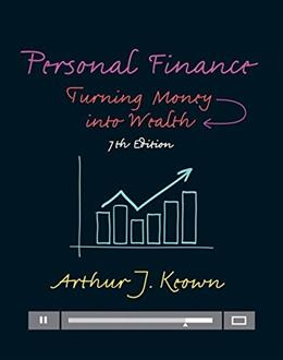 Personal Finance: Turning Money into Wealth (7th Edition) (Prentice Hall Series in Finance) 9780133856439