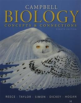 Campbell Biology: Concepts and Connections, by Reece, 8th Edition 8 PKG 9780133857108