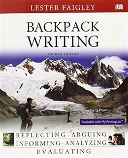 Backpack Writing (4th Edition) 9780133862669