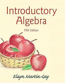 Introductory Algebra (5th Edition) 9780133864724