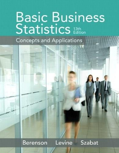 Basic Business Statistics Plus NEW MyLab Statistics  with Pearson eText -- Access Card Package (13th Edition) 13 PKG 9780133869460