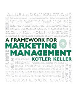 Framework for Marketing Management (6th Edition) 9780133871319