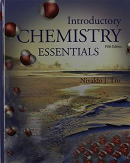 Introductory Chemistry Essentials, by Tro, 5th Edition 5 PKG 9780133874112