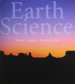 Earth Science, by Tarbuck, 14th Edition PKG 9780133874167